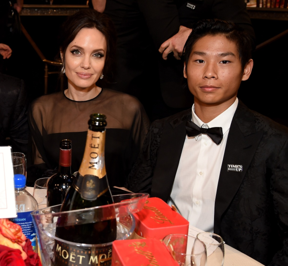 angelina jolie pax getty images