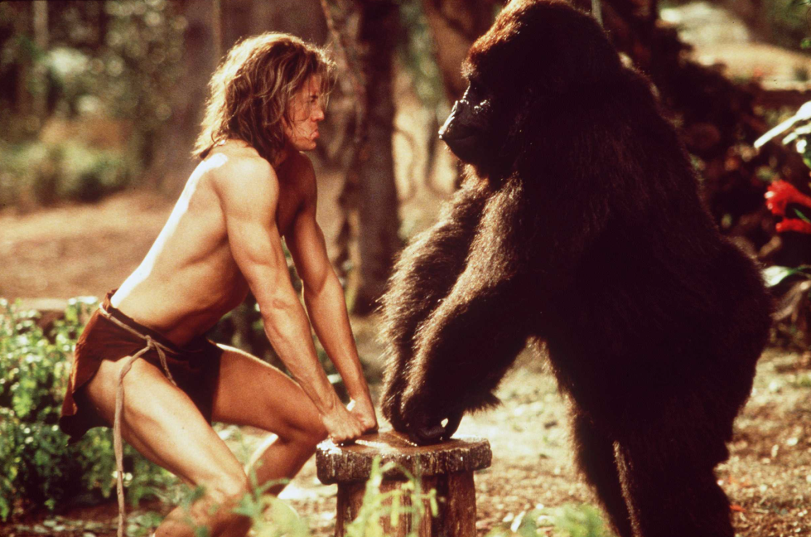 brendan fraser george of the jungle getty