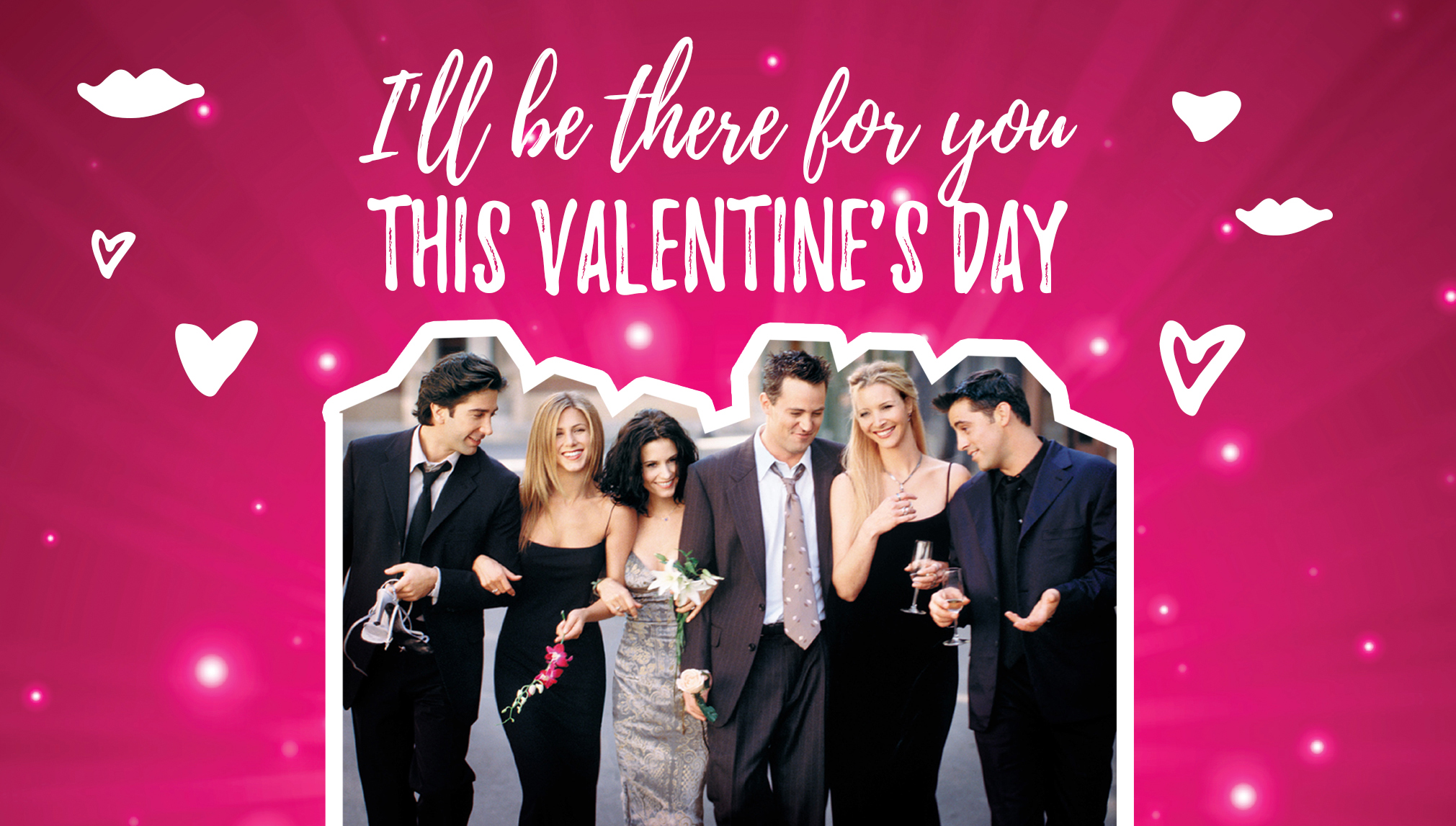 friends tv show valentine 39 s day cards to send to your lobster. Black Bedroom Furniture Sets. Home Design Ideas