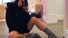 Kylie Jenner Takes Mirror Selfie