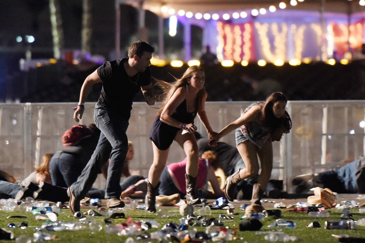 las vegas shooting - getty