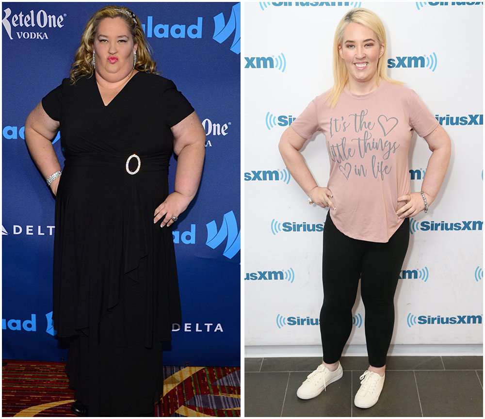 mama june 2013 vs. 2017 getty images