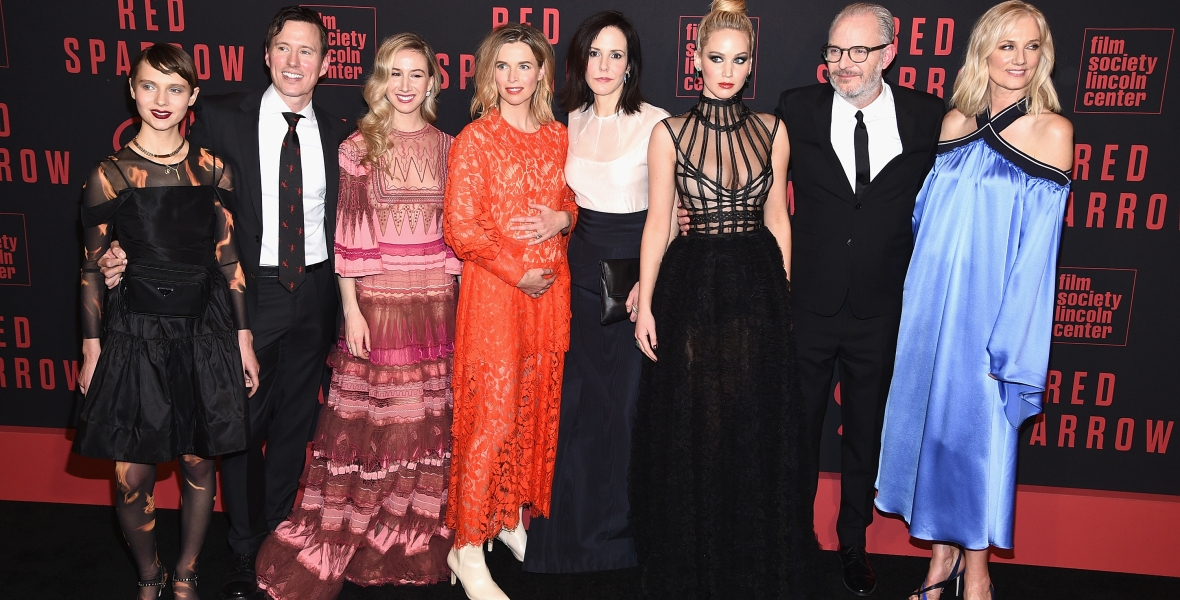 red sparrow getty