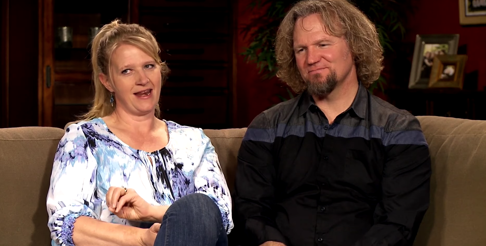 Christine and Kody Brown on 'Sister Wives'