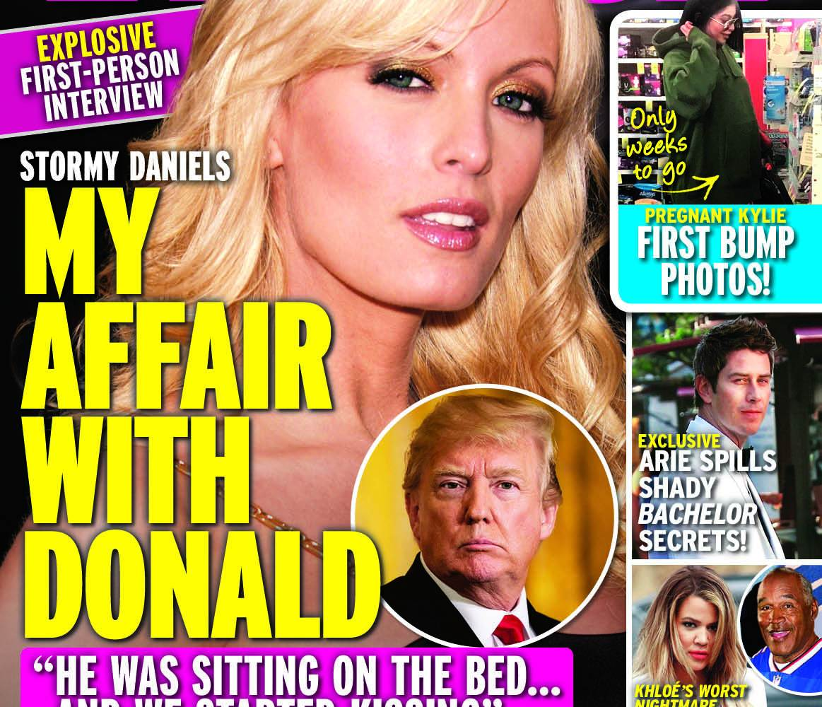 in touch weekly stormy daniels cover