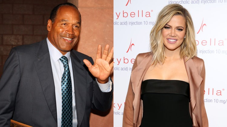 96bd6014 Here's Why Everyone Seems to Think O.J. Simpson Is Khloé Kardashian's Father !