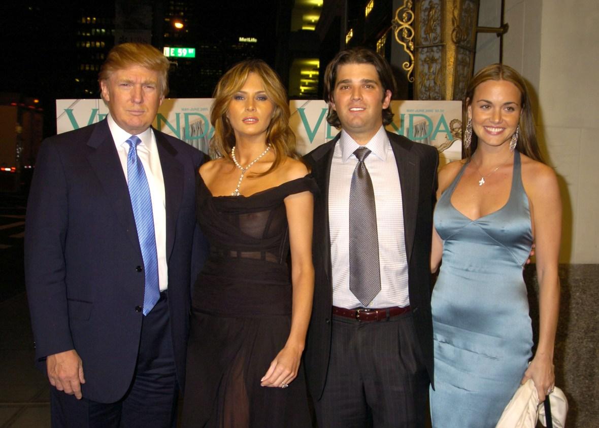 vanessa trump donald trump jr. getty images
