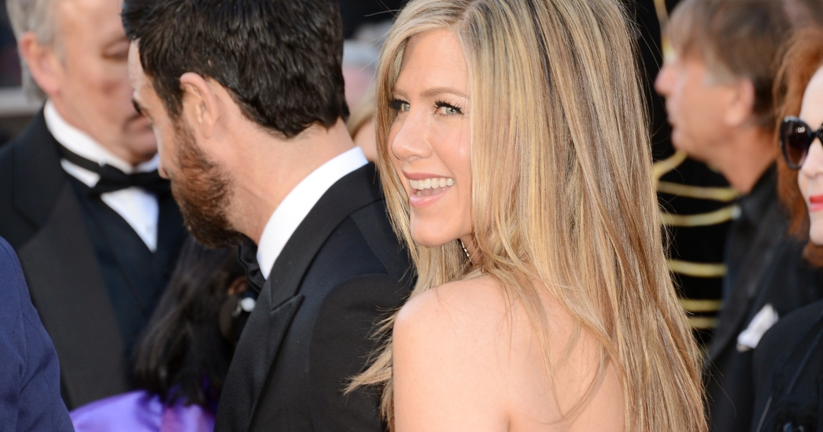 Jennifer Aniston Hair Color See Her Dark Pre Rachel Locks