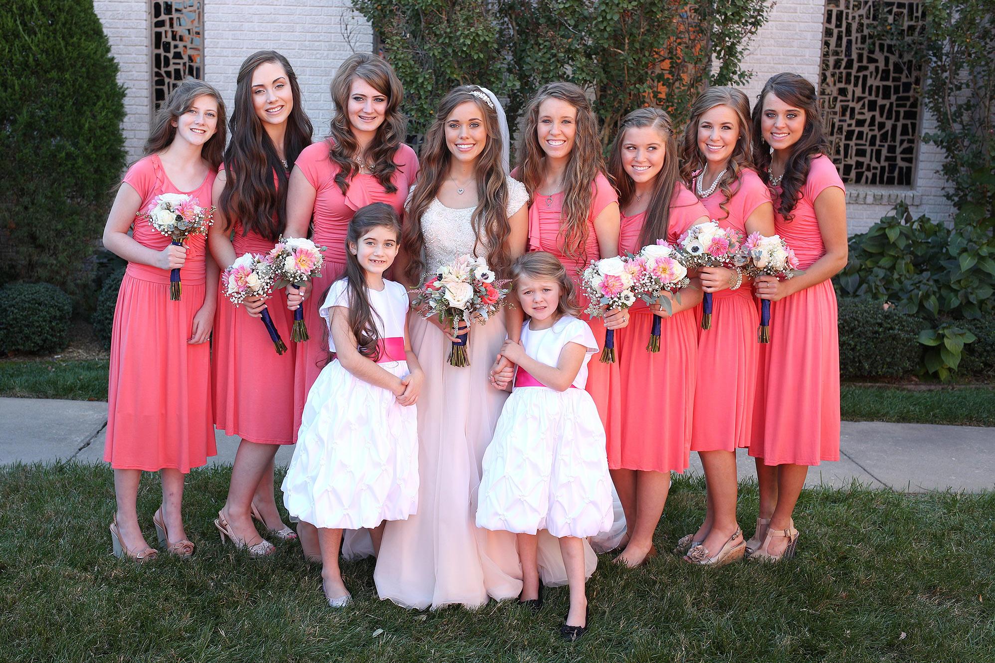 Jill Duggar Wedding Dress 2014
