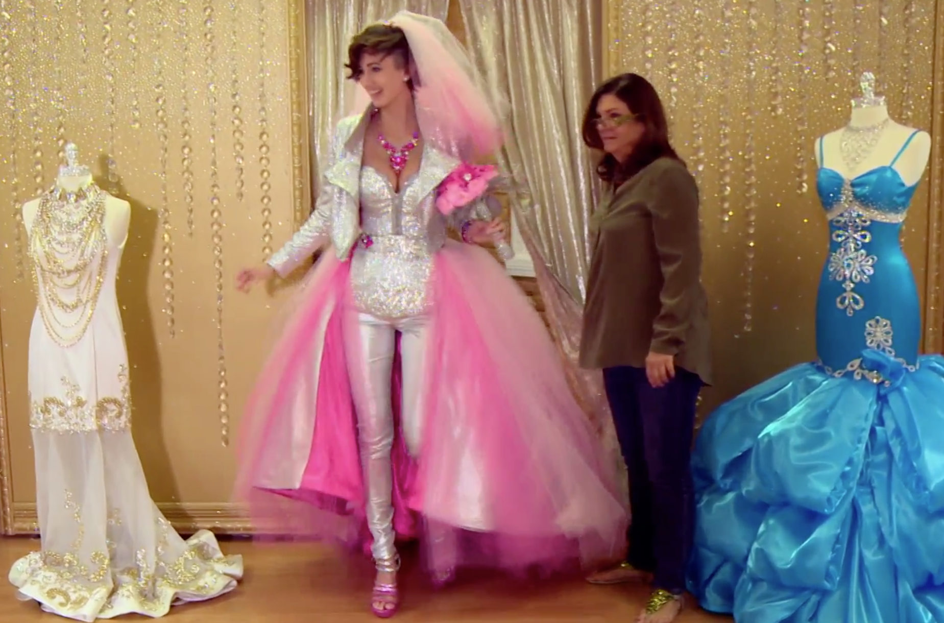 Pictures of gypsy wedding dresses
