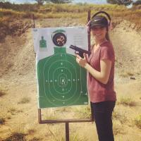 Jinger Duggar Wears Pants While Holding a Gun