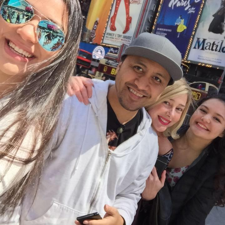 Mary Kay Letourneau and Vili Fualaau With Daughters Georgia and Audrey in Selfie