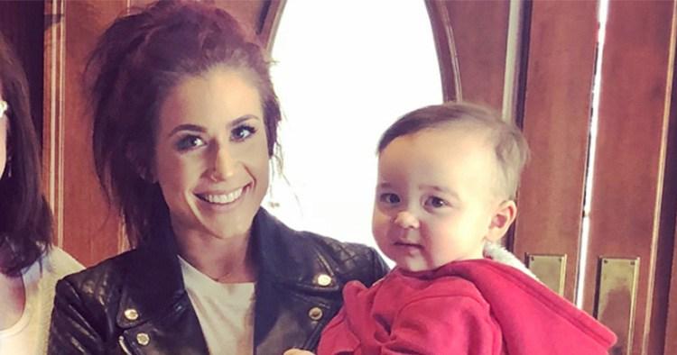 Chelsea Houska's Dad Randy FaceTimed With Grandson Watson