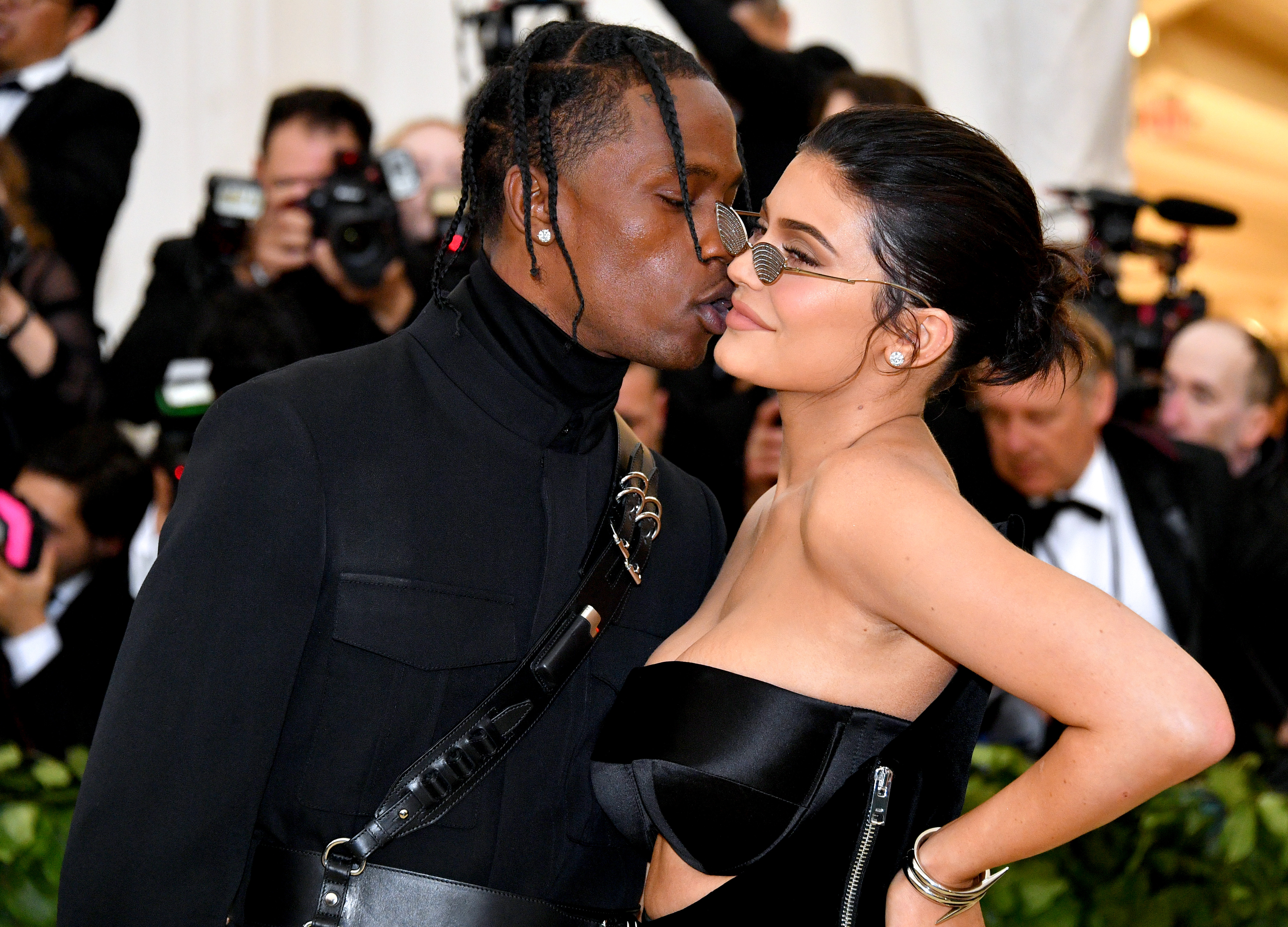 d5a2d9c37f8a Kylie Jenner and Travis Scott Just Made Their Red Carpet Debut at the Met  Gala