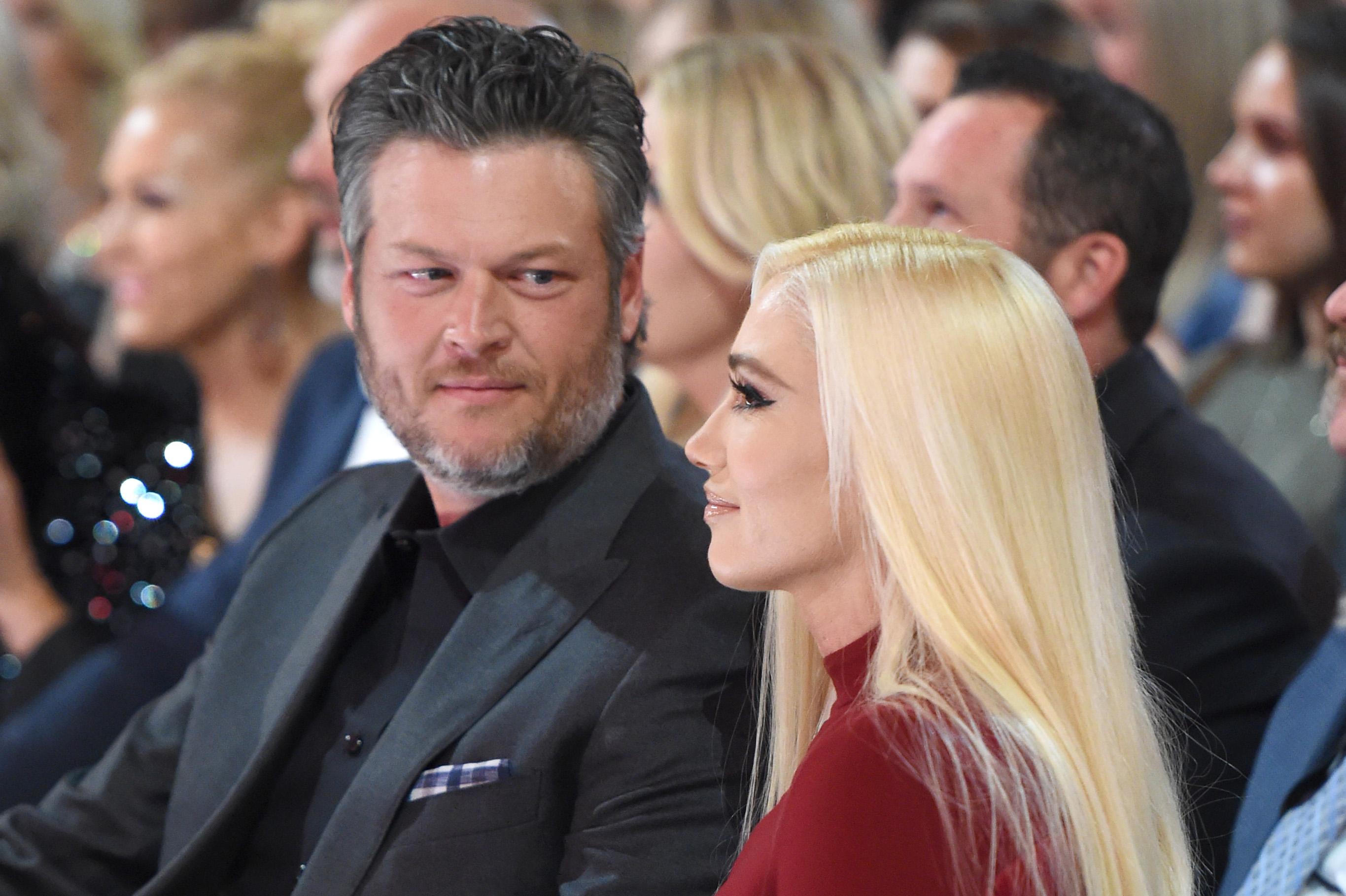 Blake Shelton And Gwen Stefani Wedding Pictures.Blake Shelton And Gwen Stefani S Marriage Is Already In Crisis