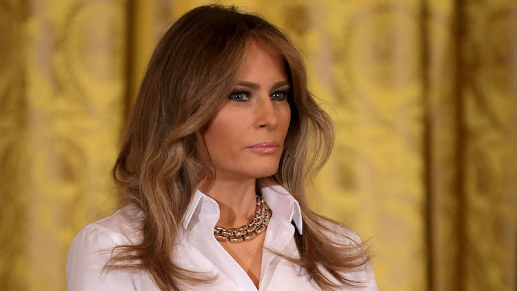 how-is-melania-doing-today-