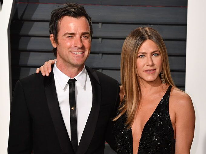 jennifer aniston and justin theroux getty images