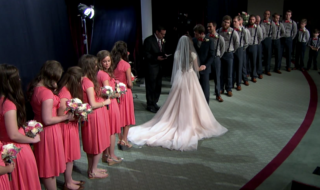 Being One Of The Duggar Bridesmaids Is A Total Nightmare