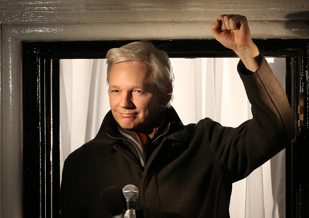 julian assange getty