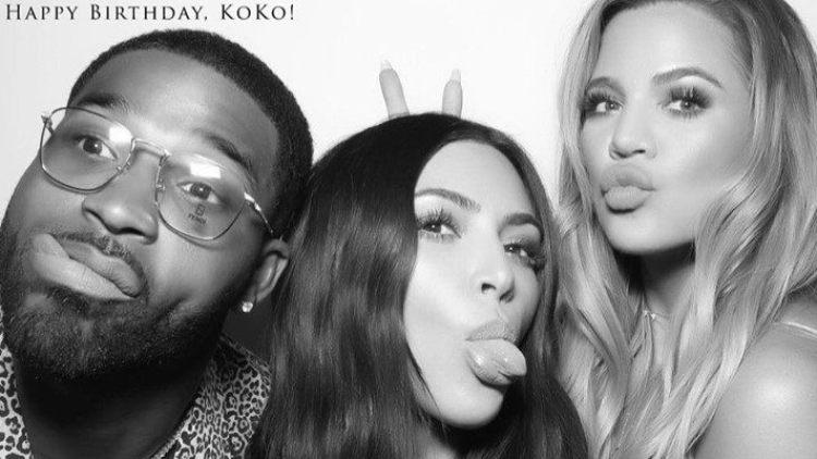 kim kardashian khloe tristan
