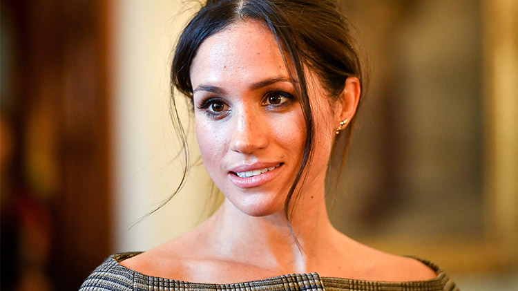close up of Meghan Markle