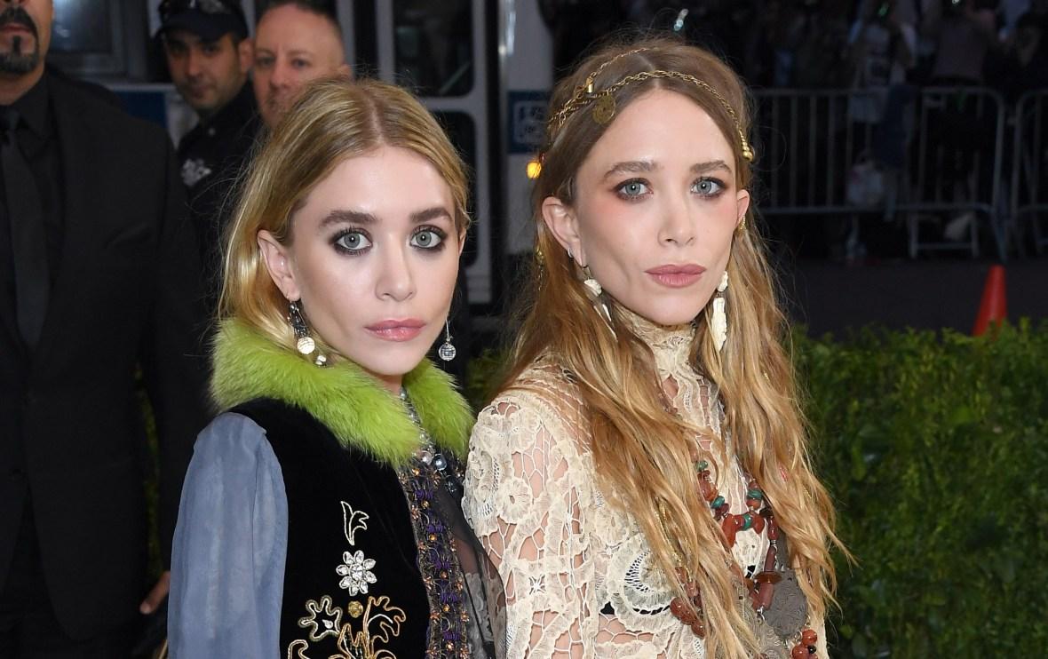 olsen twins met gala