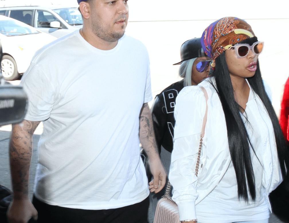 rob kardashian and blac chyna pics