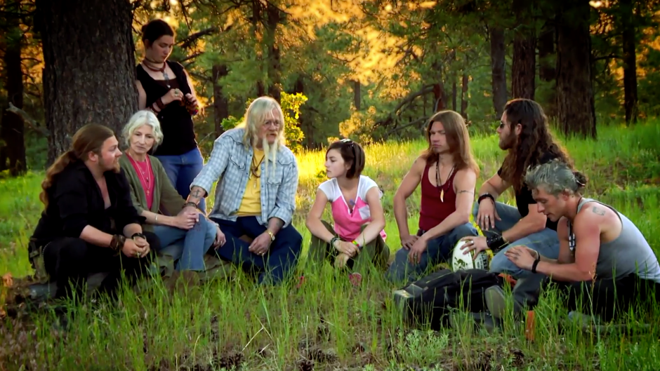 The Brown Family on 'Alaskan Bush People