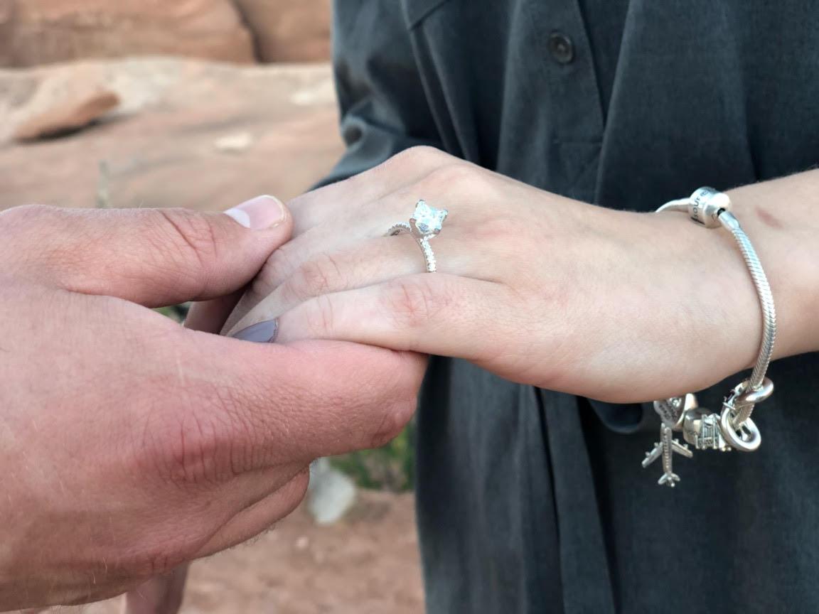 josie bates engagement ring