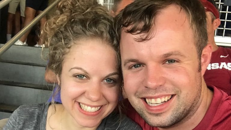 Abbie Grace Burnett and John David Duggar