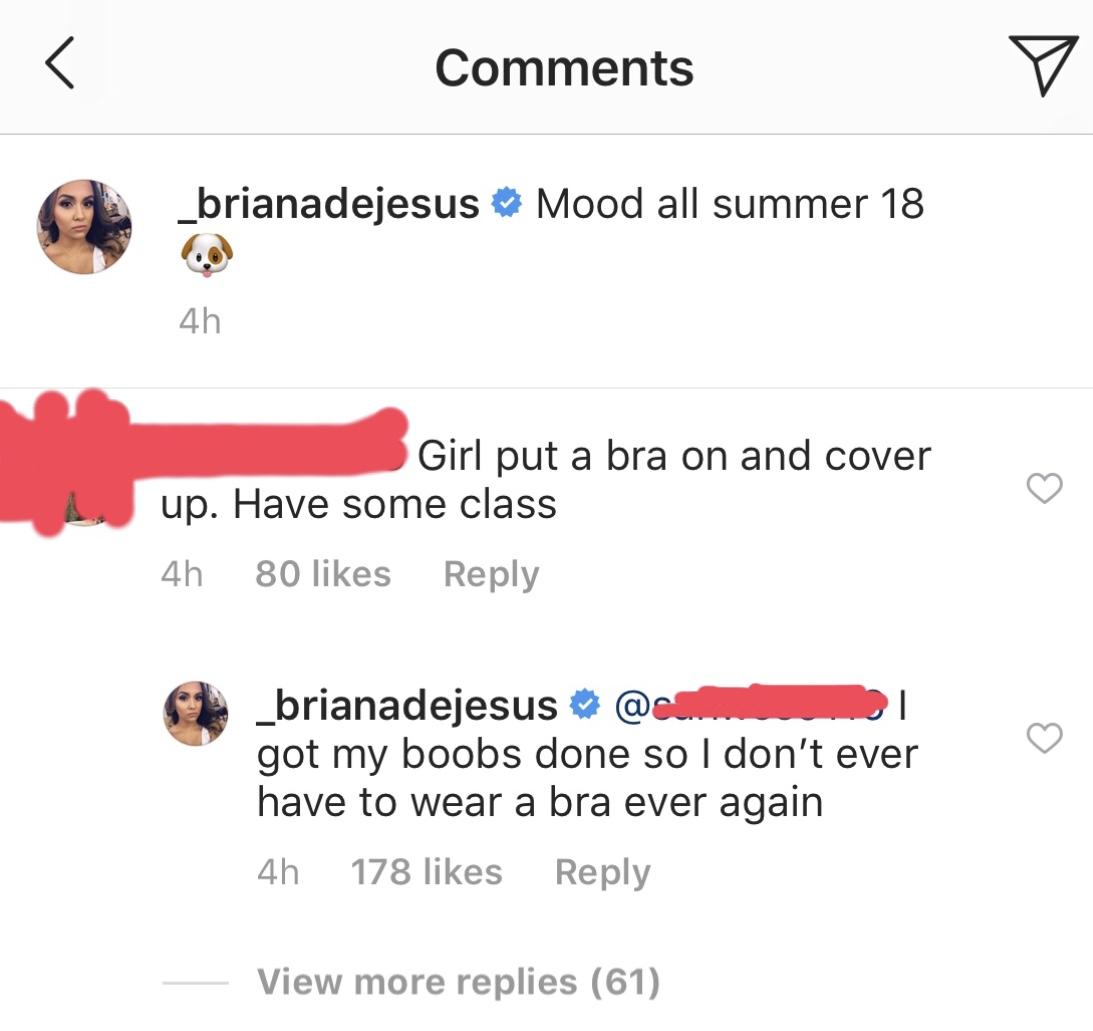 briana-dejesus-braless-diss