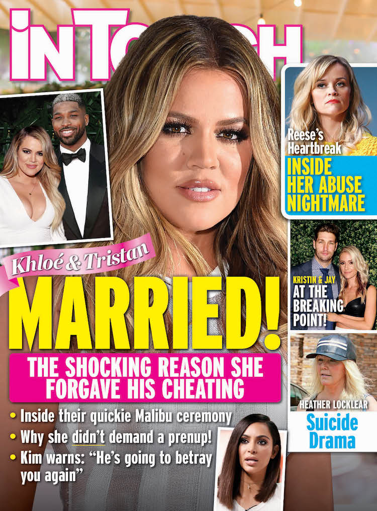 in touch khloe kardashian cover