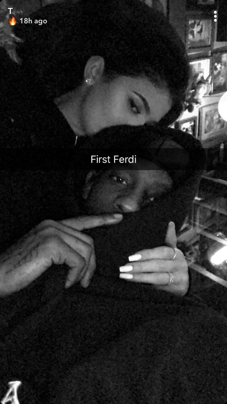 Travis Scott Shares a Rare PDA Picture With Kylie Jenner on