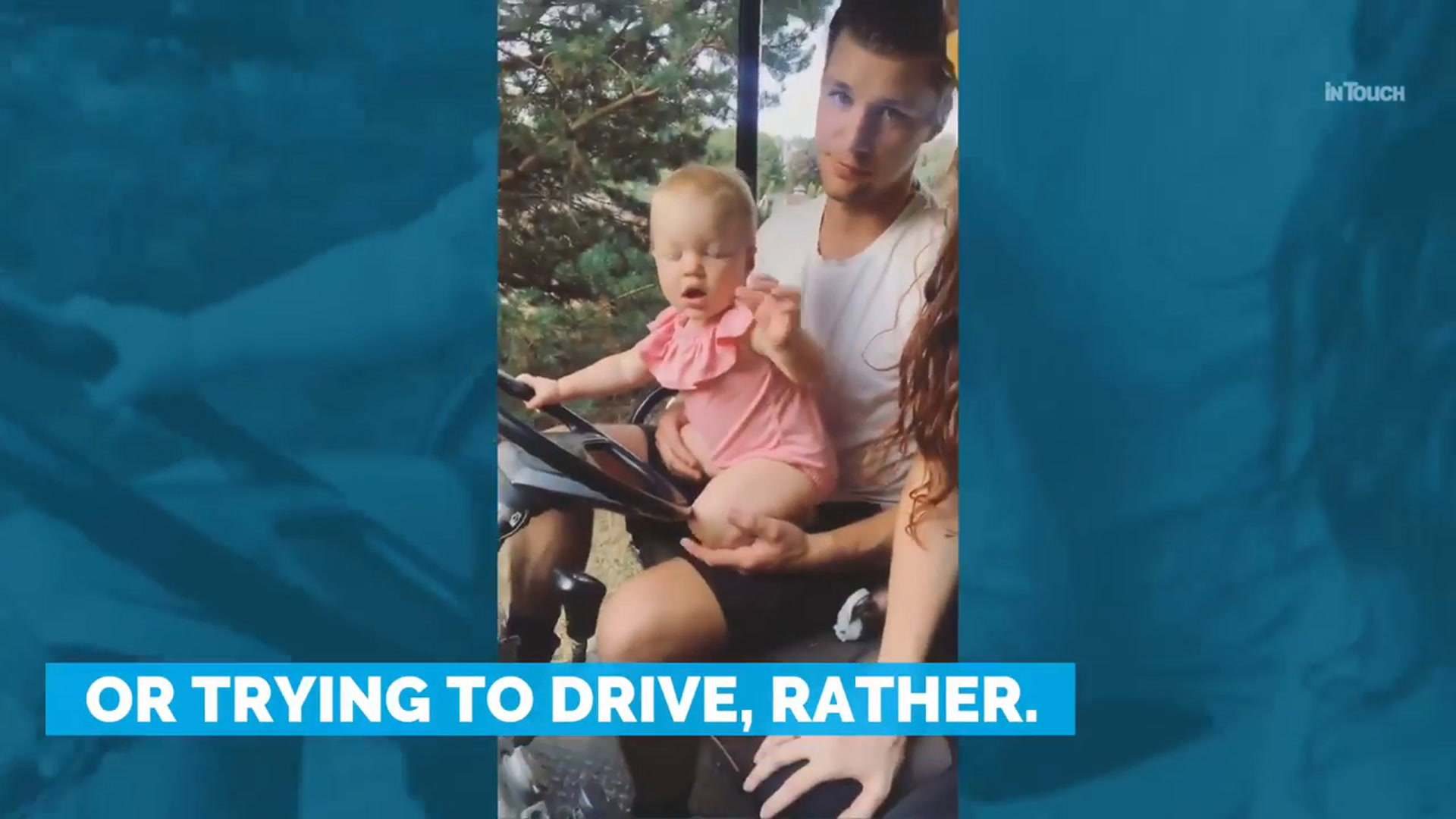 Ember Roloff Learns How to Drive in New Video With Her Daddy