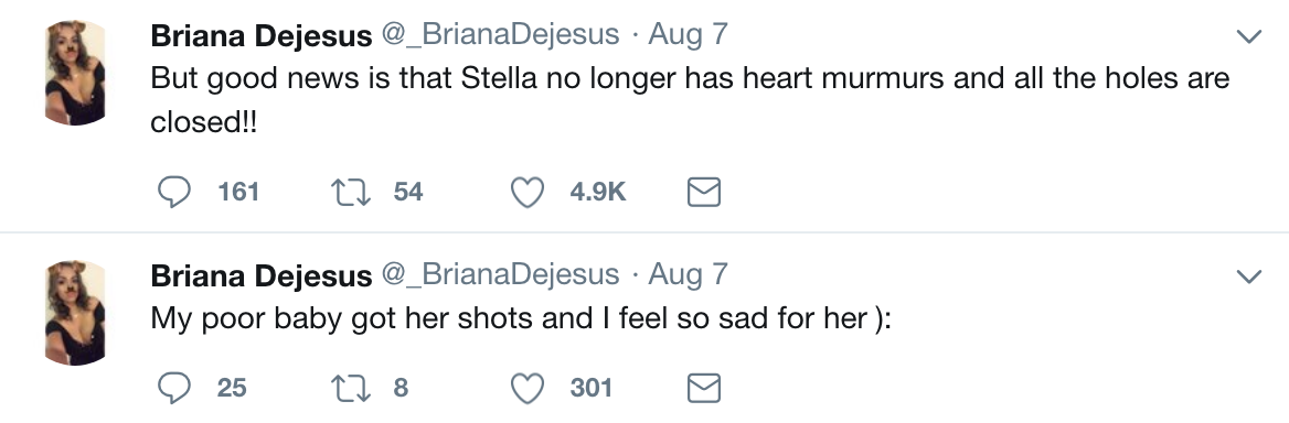 briana dejesus twitter