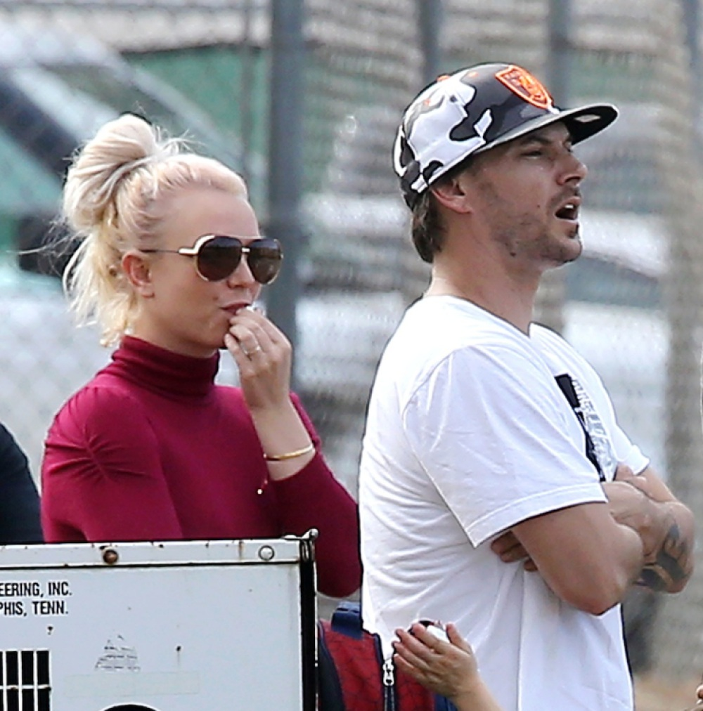 britney spears & kevin federline