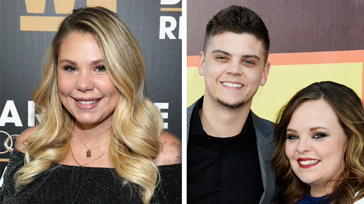 Kailyn Lowry Photo Next To Tyler Baltierra and Catelynn Lowell Photo