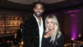 Khloe Kardashian and Tristan Thompson out at an event.