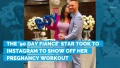Paola Mayfield Shows Off Her Pregnancy Workout
