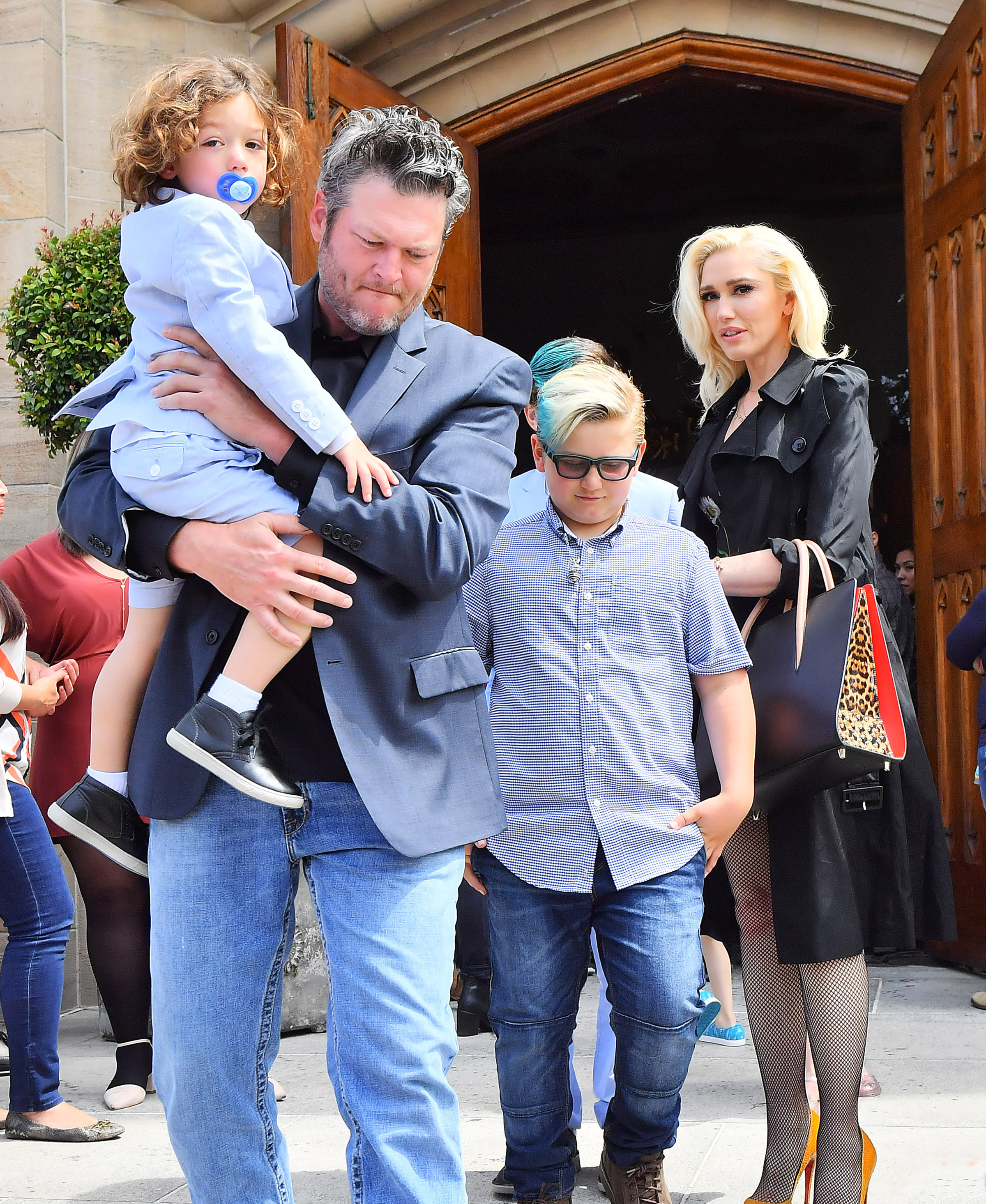 Photos Of Blake Shelton With Gwen Stefani's Kids