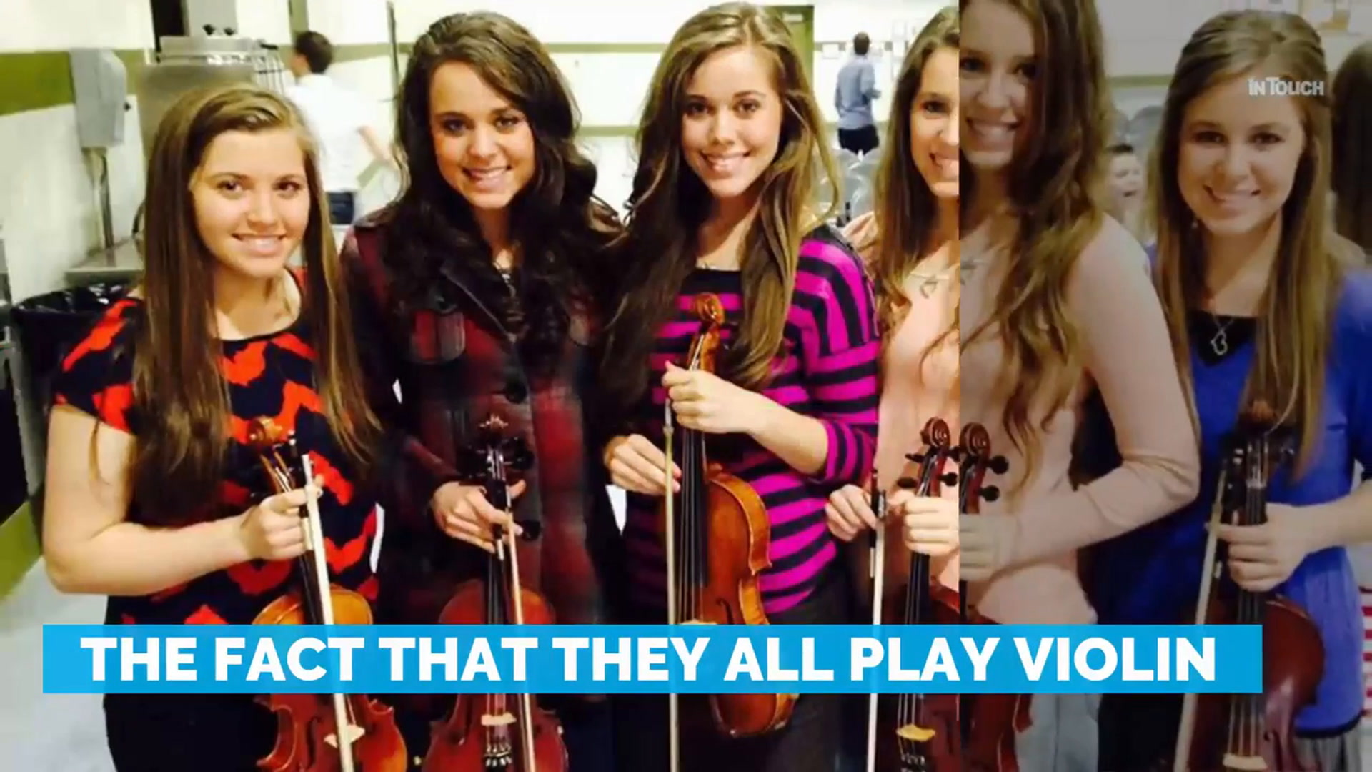 Fans Just Noticed How The Duggar Girls Sit The Exact Same Way