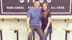 Jinger Duggar Wears a Sexy Dress During the Vuolo's Family Visit