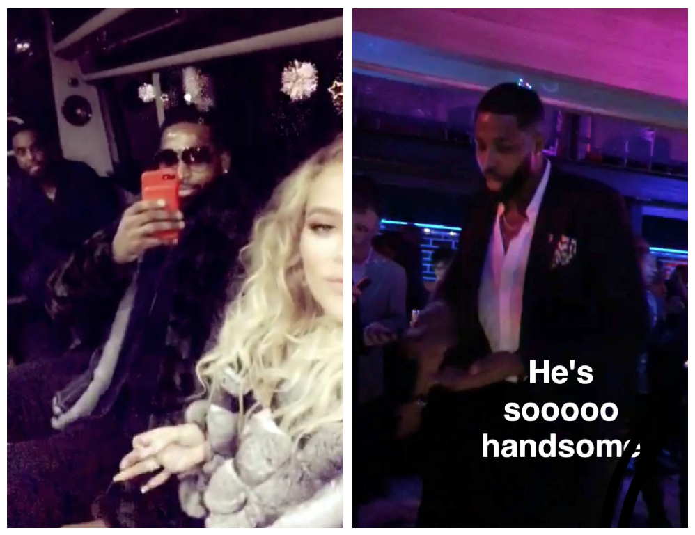 khloé kardashian tristan thompson new years eve