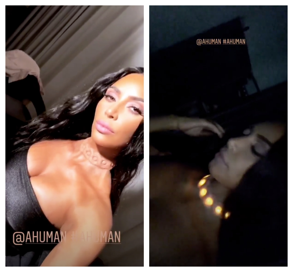 kim kardashian a. human necklace implant