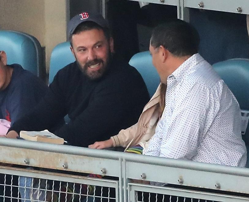 Ben Affleck Red Sox