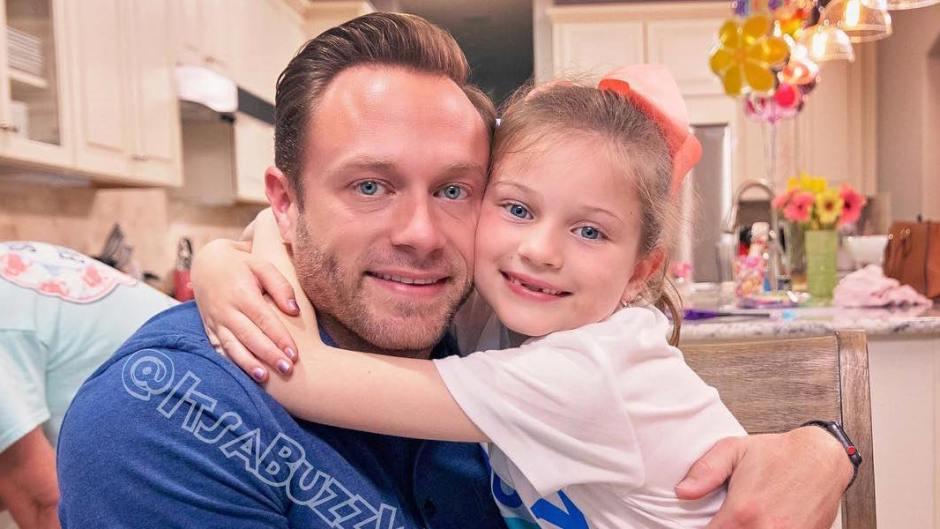 Blayke Busby Hugs Dad Adam