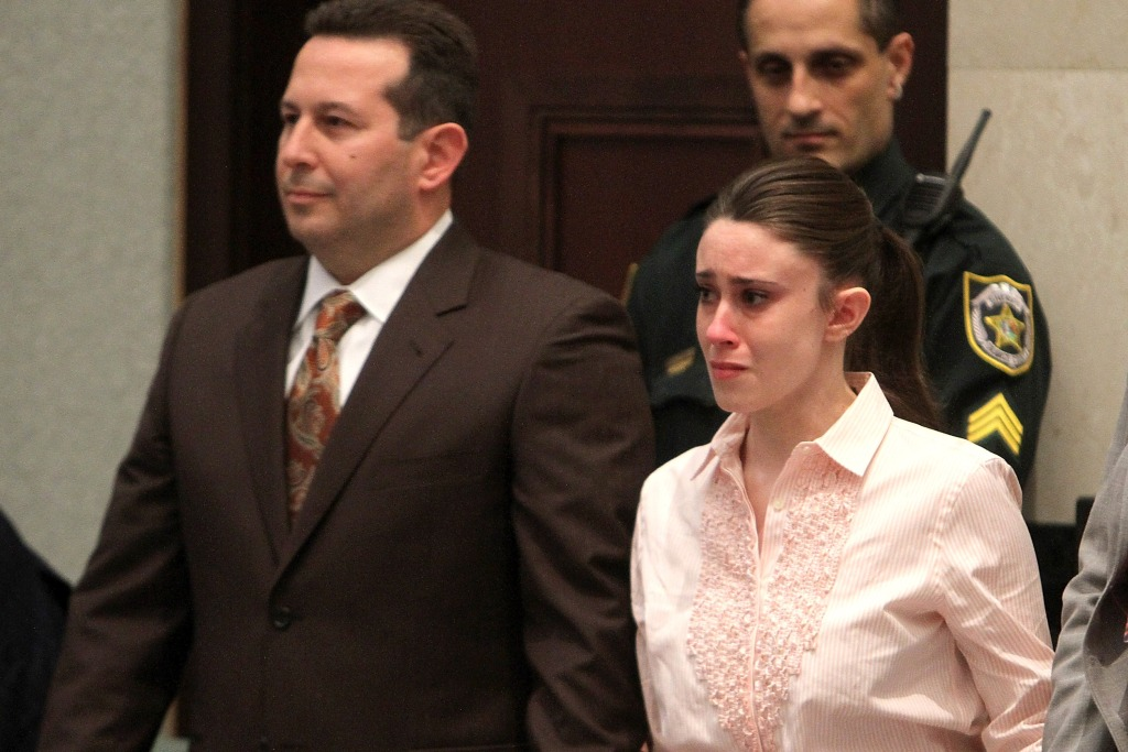 Casey Anthony Crying At Trial