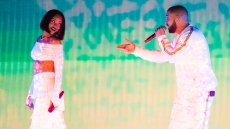 Drake And Rihanna Perform Onstage