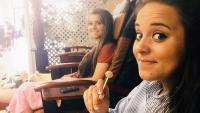 Jinger And Joy-Anna Duggar Getting Pedicures
