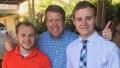 Jim Bob, Josiah And Jedidiah Duggar